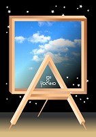 Frame and Easel