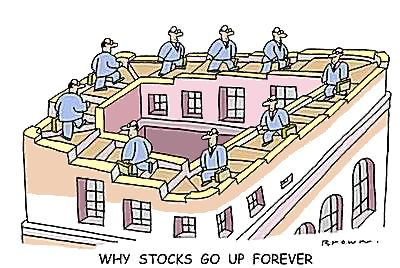 Why stocks go up forever