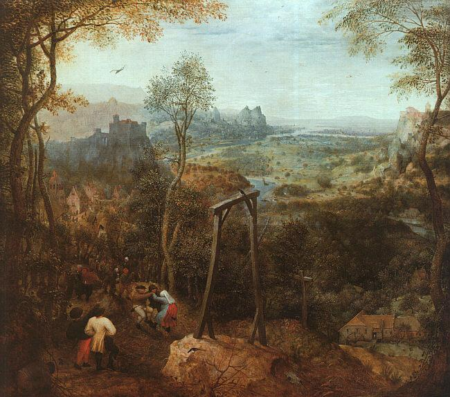 The Magpie on the Gallows (Pieter Bruegel)