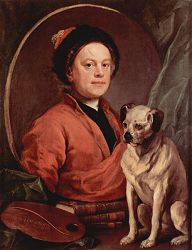 William Hogarth (Self portrait)