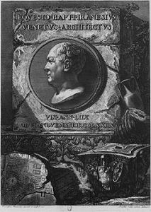Goivanni Piranesi - Self portrait