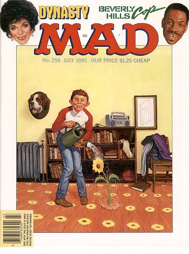 Mad World News >> Mad, 1965, N5 - Covers - Impossible world
