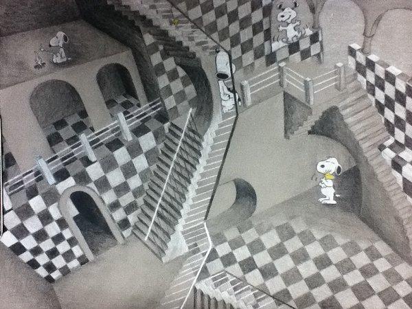 Kristel Marion K Heartmusic Escher Inspired Impossible World