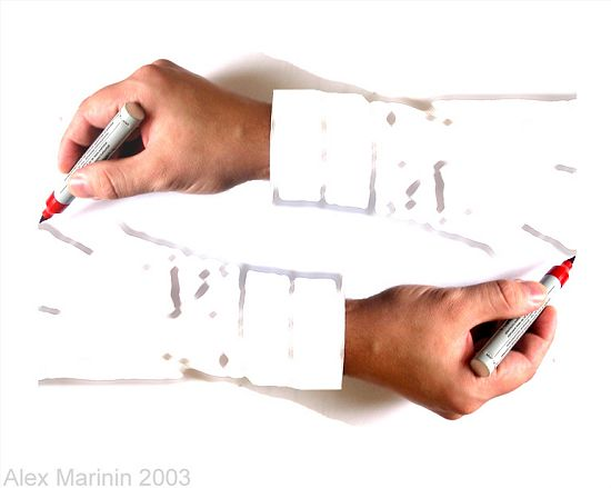 Alex Marinin - Drawing Hands