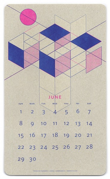 jp king - impossible figures on calendars