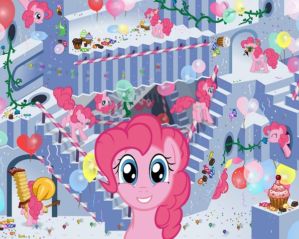 Being Pinkie Pie