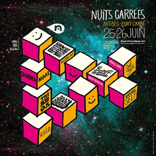 Nuits Carrees 2010 poster