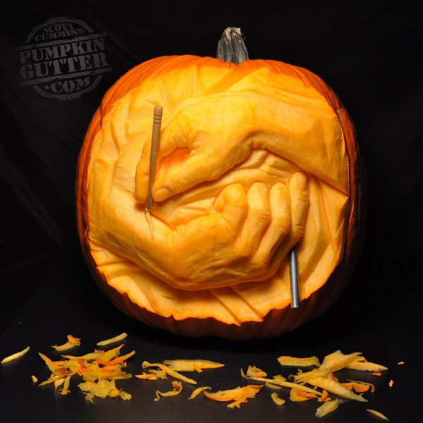 Carving Hands
