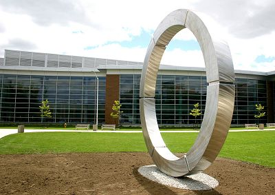 Circle sculpture source