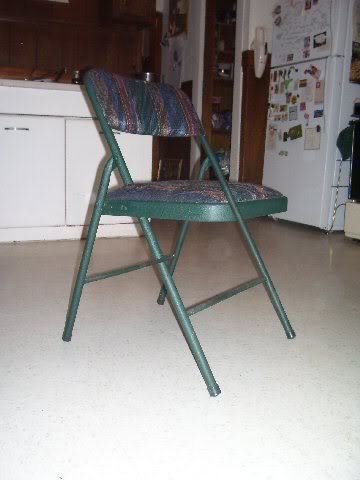 Impossible chair