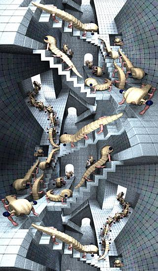 House of Stairs (M.C. Escher)