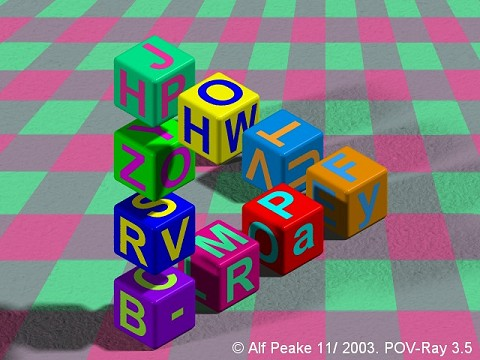 Impossible blocks for children