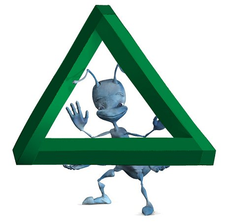 Alien with impossible triangle