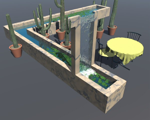 Water Feature - WIP
