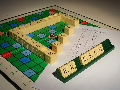 Impossible scrabble
