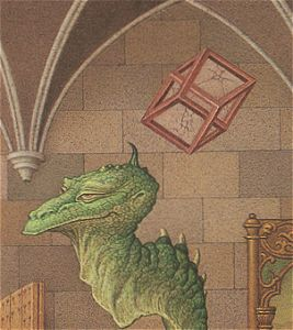 The impossible cube over the Dragon's head