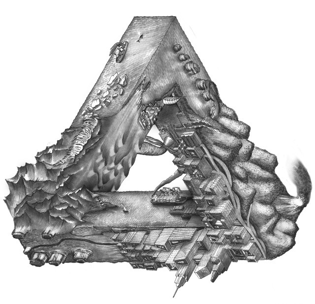 The Penrose Triangle Earth Society