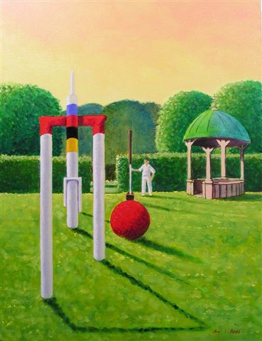 Escher Does Croquet