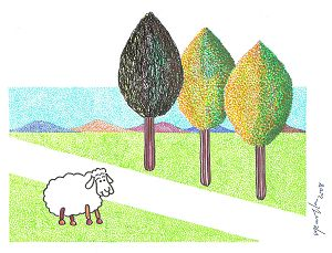 Sheep and impossible trees
