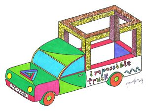 Impossible truck