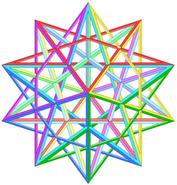 Impossible small stellated dodecahedron