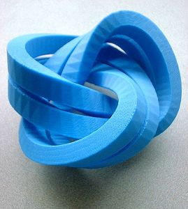 Trefoil Knot Impossible World