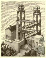 "Escher's ""Waterfall"""
