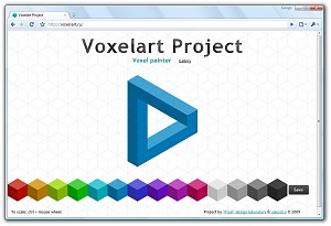 Voxelart project screenshot